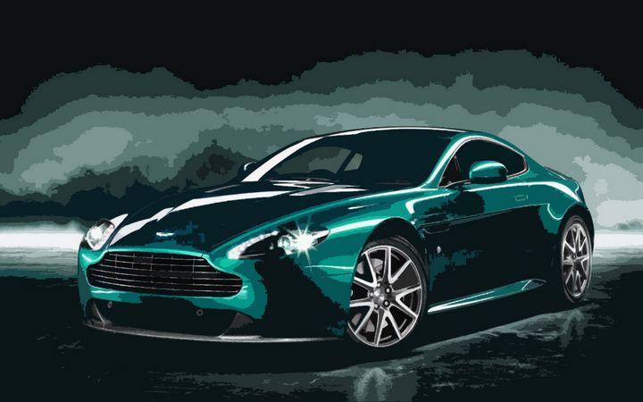 Aston Martin Vantage V8 - THE SPEED ART