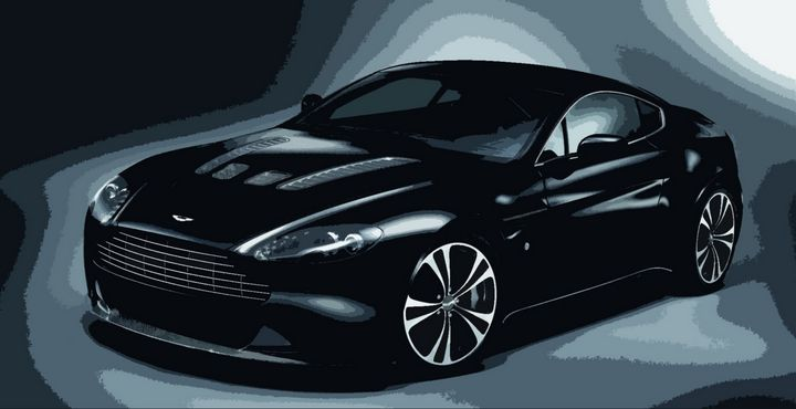 Aston Martin Vantage V12 - THE SPEED ART