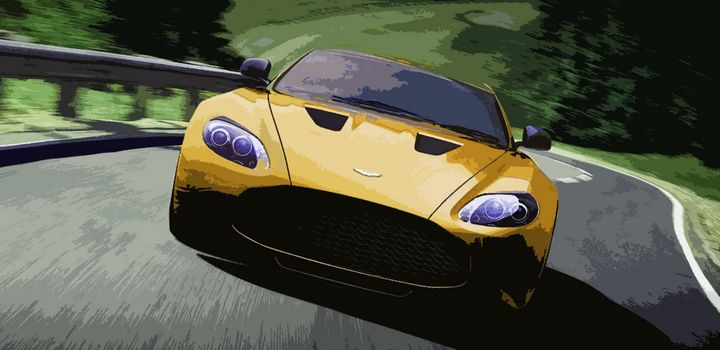Aston Martin V12 Zagato - THE SPEED ART
