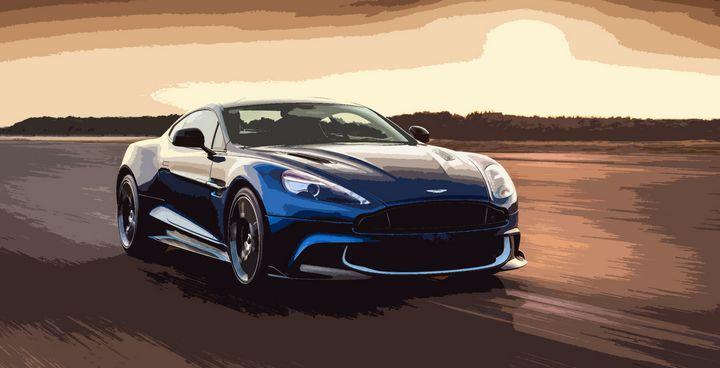 Aston Martin Vanquish S - THE SPEED ART
