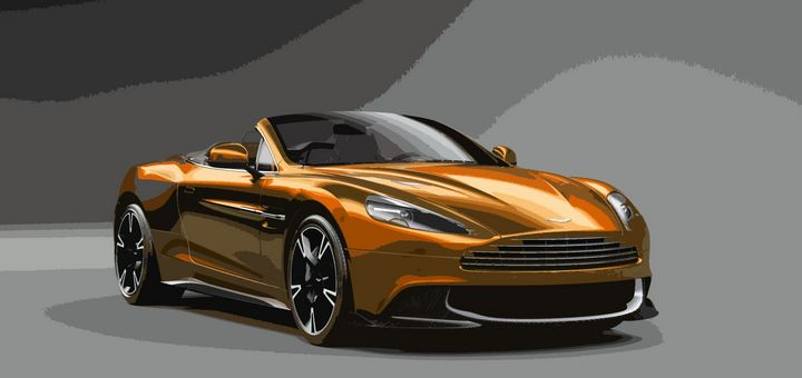 Aston Martin Vanquish S Volante - THE SPEED ART