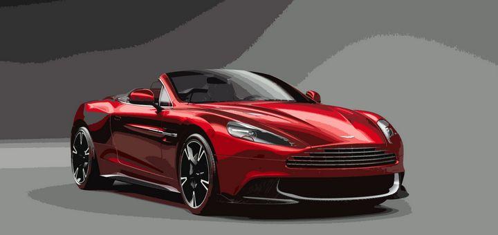 Aston Martin Vanquish S Volante - THE SPEED ART