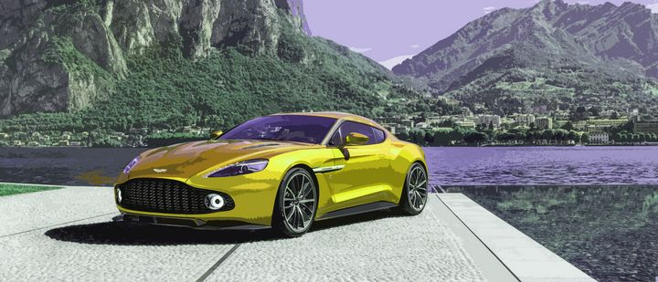 Aston Martin Vanquish Zagato Coupe - THE SPEED ART