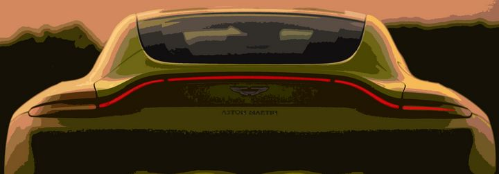 Aston Martin Vantage - THE SPEED ART
