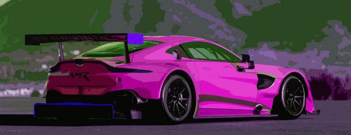 Aston Martin Vantage AMR - THE SPEED ART