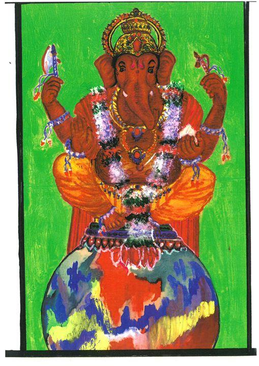 shree ganeshji - BEAUTIFUL PAINTINGS FOR ALL.........