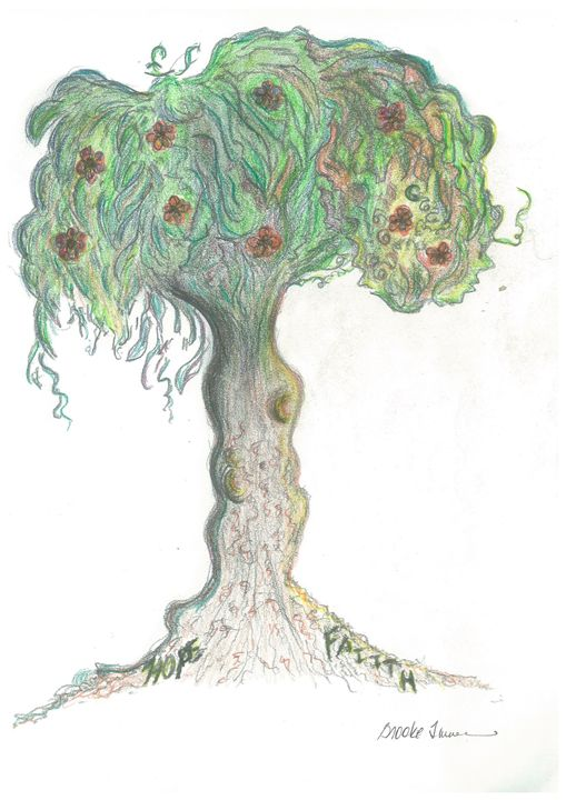 Growing Hope & Faith - Art by Langston Studios