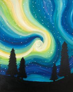 Starlit Swirl
