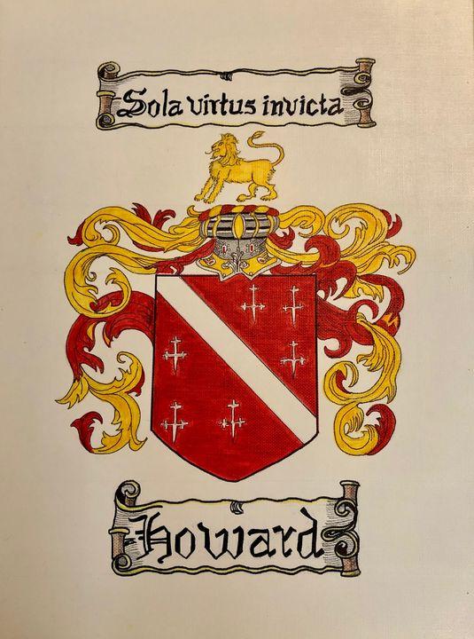 Coat of Arms - HOWARD - Art by Langston Studios