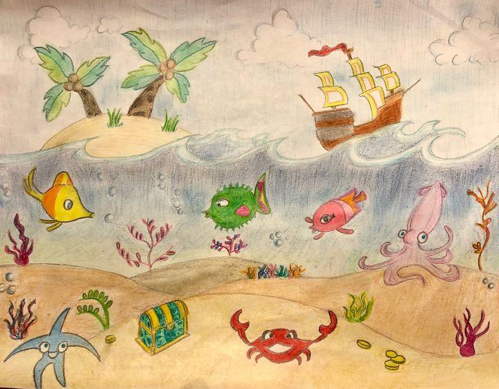 Under the Sea - Art by Langston Studios