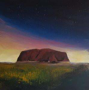 Visitors of Celestial Land - Uluru