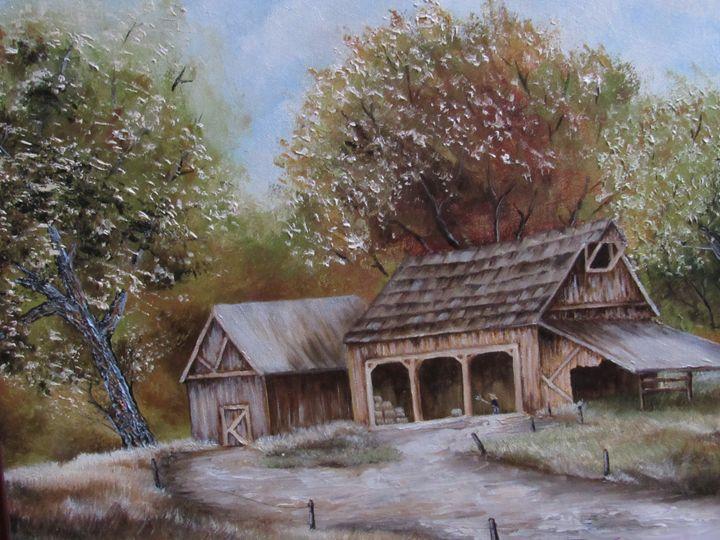 Country Barn - NatureSpiritnArt
