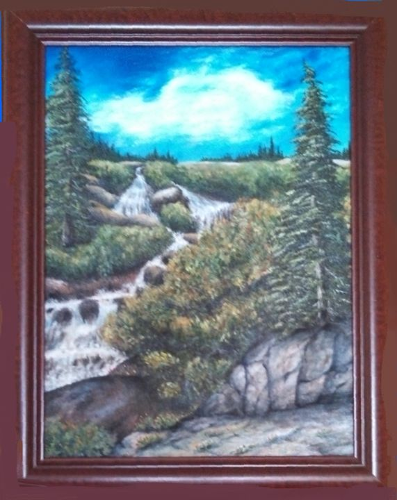 McCullough Gulch-Quandary Falls - NatureSpiritnArt