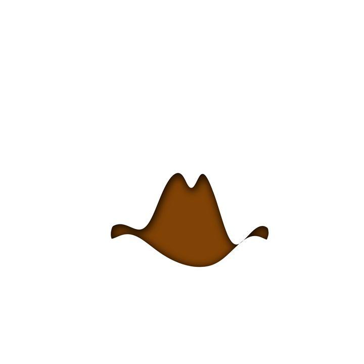 Cowboy Hat Ten Gallon - Laura Nybeck's Art