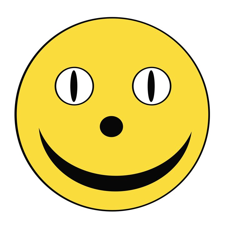 Yellow Happy Face - Laura Nybeck's Art
