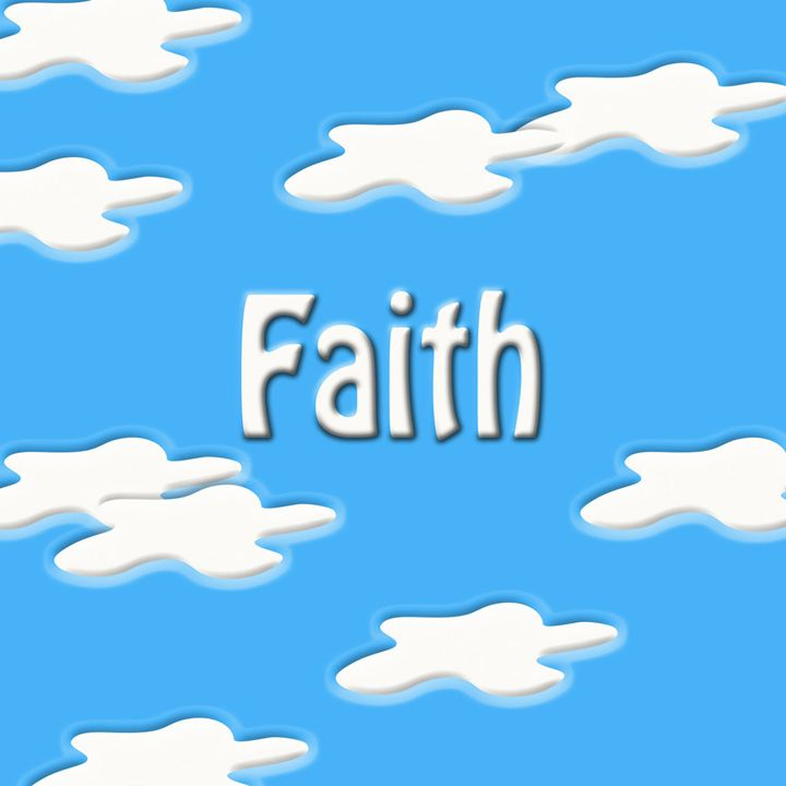 Faith Written in the Clouds - Laura Nybeck's Art