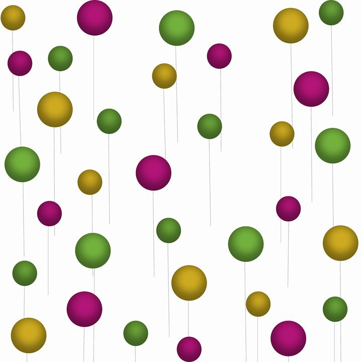 Maroon-Gold-Green Balloons - Laura Nybeck's Art