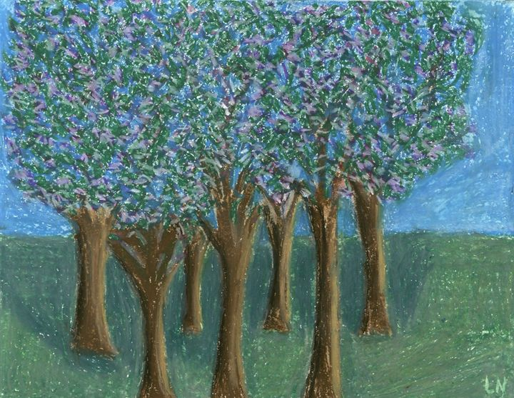 Blooming Trees - Laura Nybeck's Art