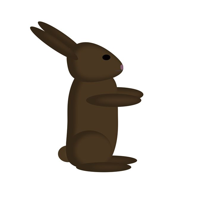 Large Brown Rabbit - Laura Nybeck's Art