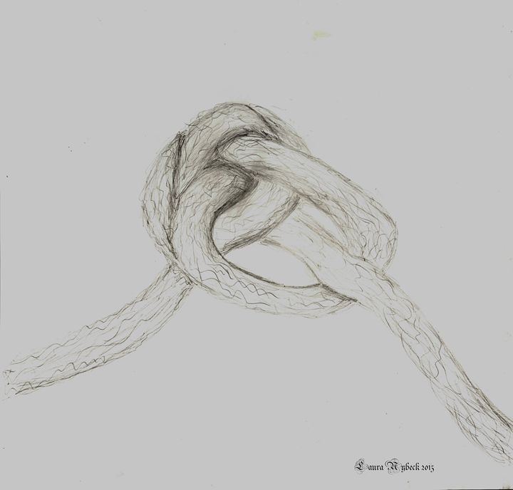 Large Knot - Laura Nybeck's Art