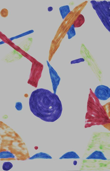 Art Deco Gel Pen/Photoshop Filter - Laura Nybeck's Art