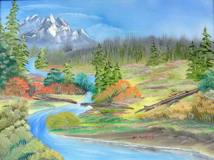 High Country River - DL Welch