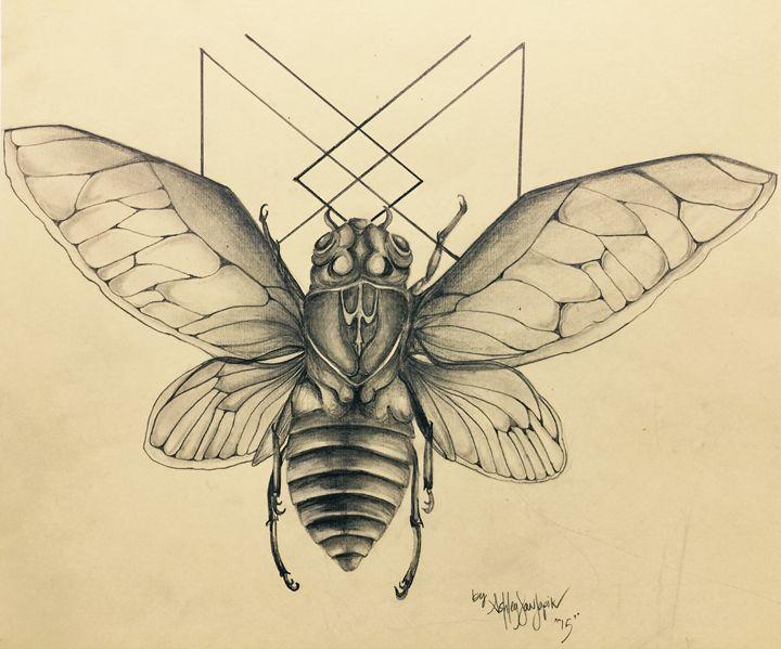 Longevity Cicada - TextureForTheSoul