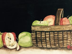 Basket water color