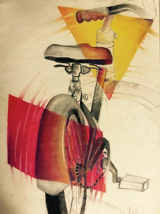 Color Block Bike - TextureForTheSoul