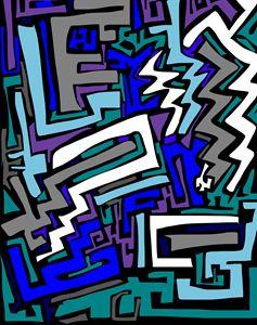 Blue Maze Haze