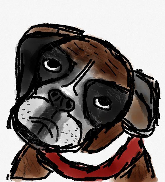 Boxer Boy - PK17 Art