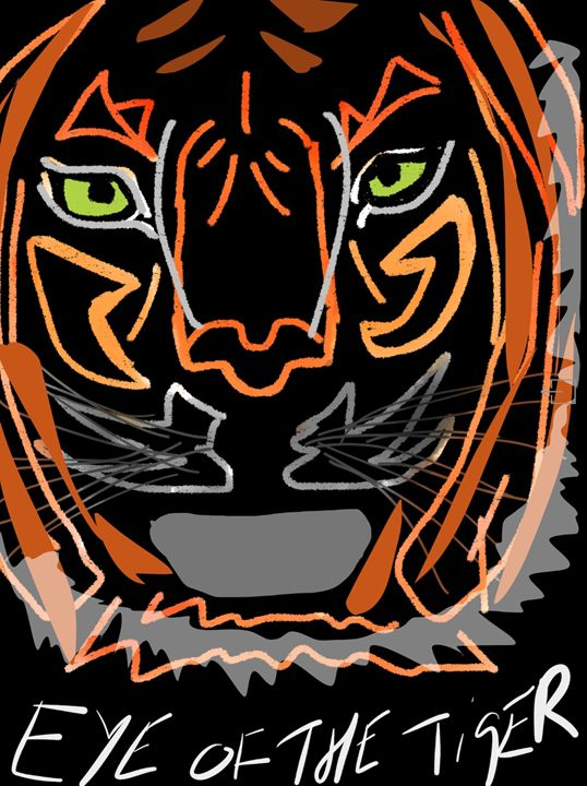 Eye of the Tiger - PK17 Art