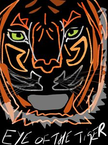 Eye of the Tiger - PK17 Art