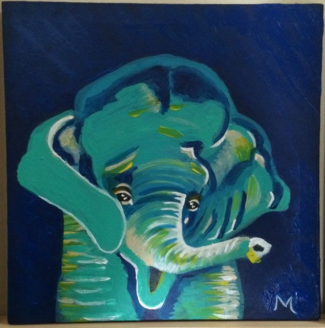 Teal the Elephant - Mandy Miller