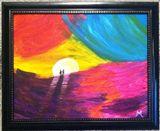 11x14 acrylic on canvas board