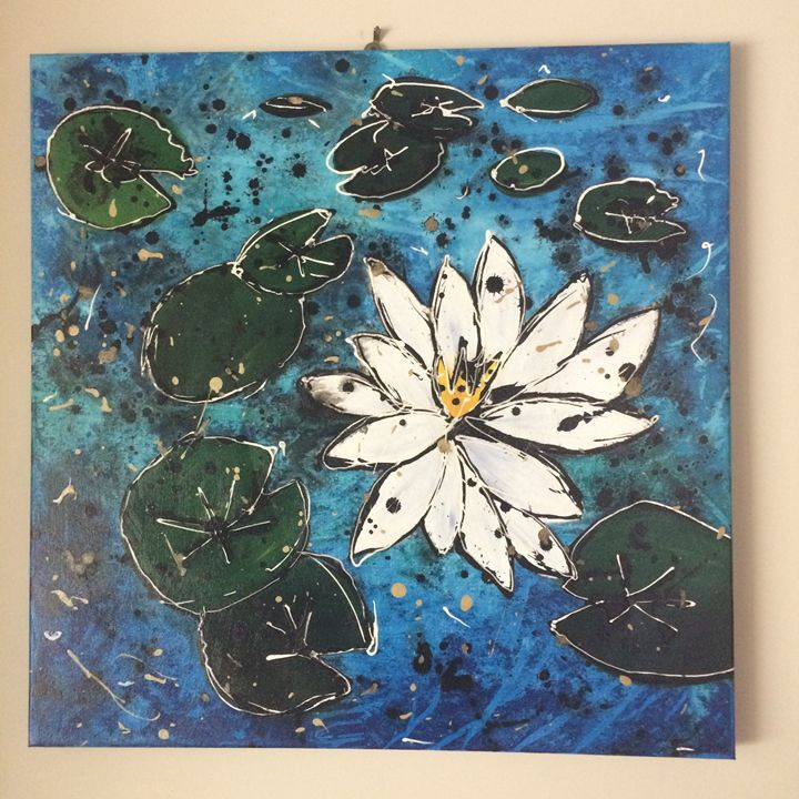 Water lillies - Samantha Kiley's artwork