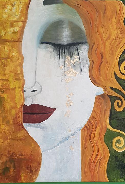 Golden tears by Gustav Klimt - TANYAZHELYAZKOVA
