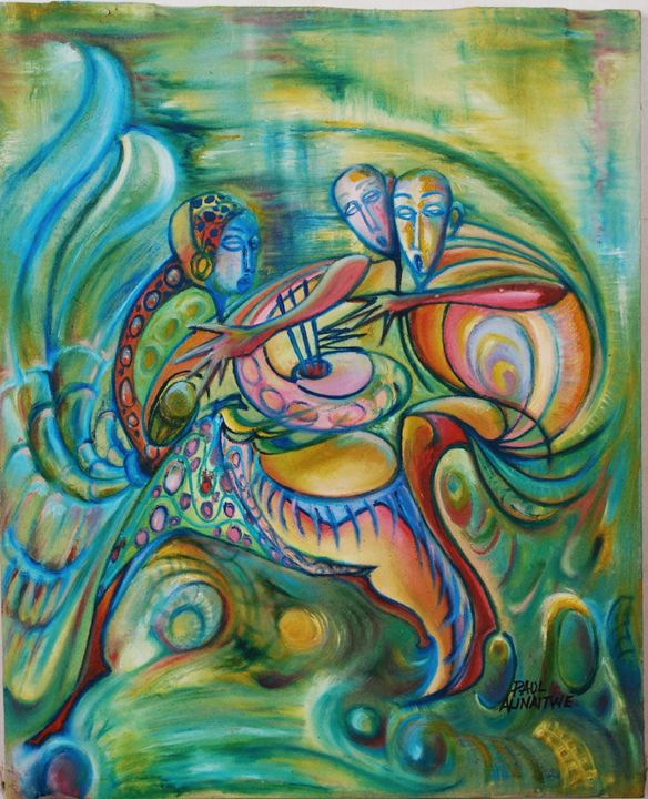 The dancers - Alinaitwe Paul
