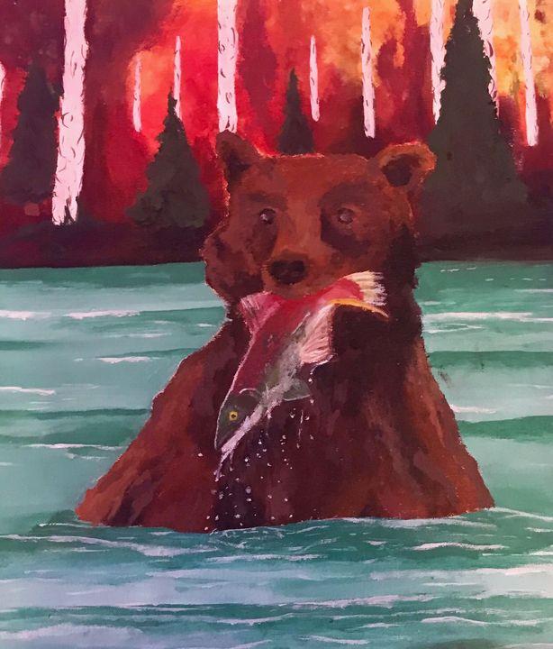Happy Bear - Madisenb_art