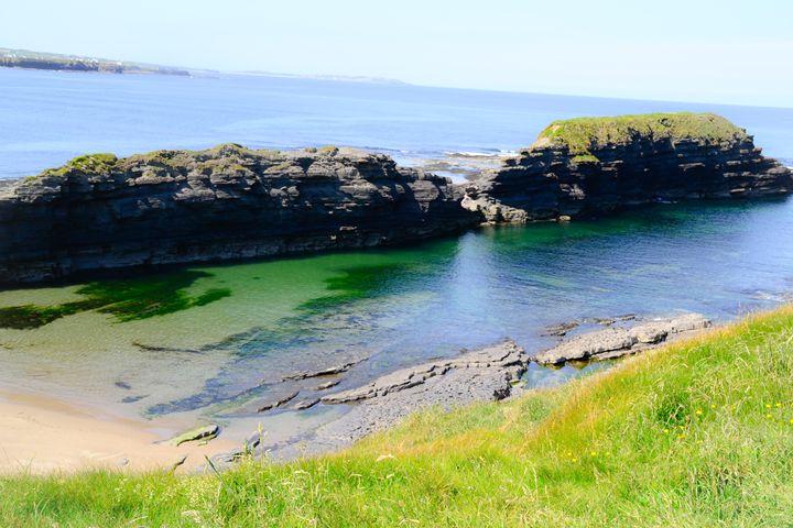 cliffs of bundoran - stephanie meehan