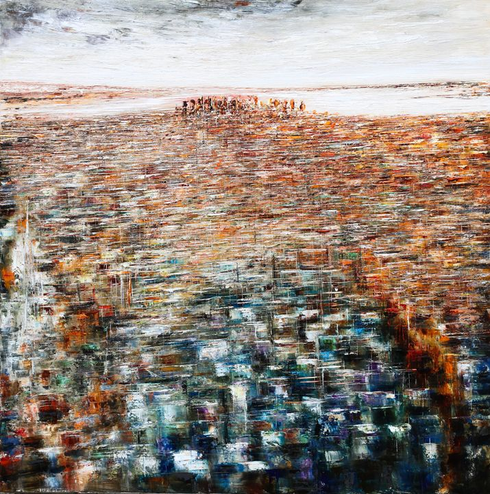 New York city from the Empire State - Pierre Reymond