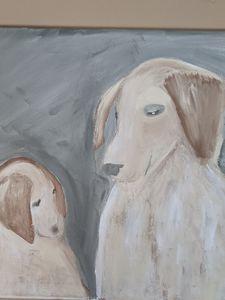 Mamma dog love