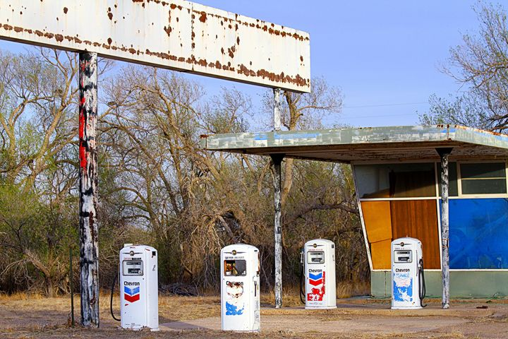 abandoned Gas Station in New Mexico - Catherine Sherman