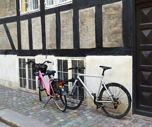 His and Hers Bicycles in Copenhagen - Catherine Sherman