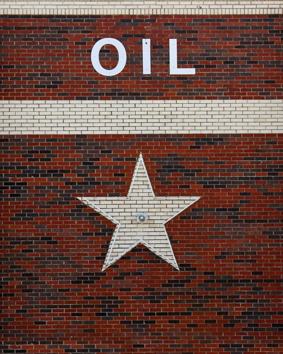 Oil and Texas Star Sign - Catherine Sherman