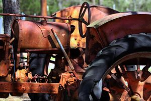 Rusty Tractor - Catherine Sherman