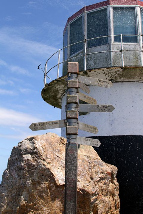 Old Cape Point Lighthouse - Catherine Sherman