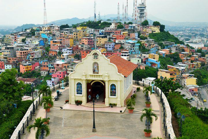 Santa Ana Chapel, Guayaquil, Ecuador - Catherine Sherman