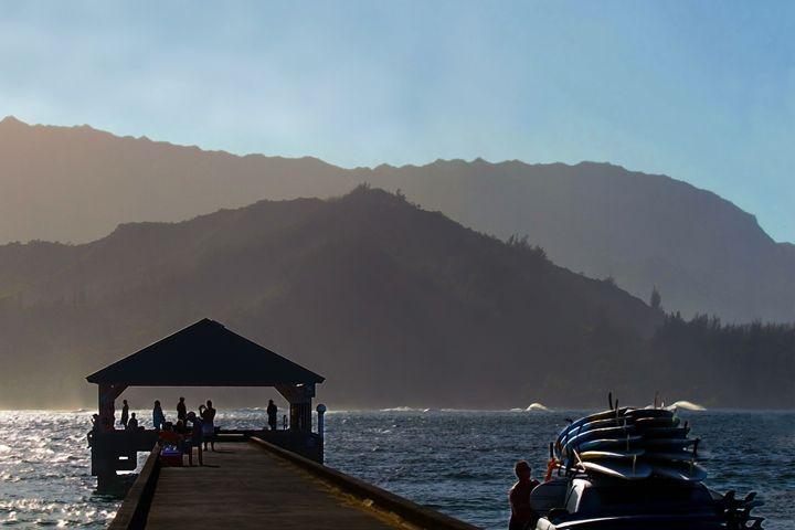 Hanalei Pier, Kauai, Hawaii - Catherine Sherman