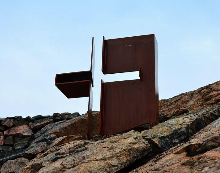 Helsinki Rock Church Cross - Catherine Sherman